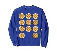 Eleven 11 Waffles T Shirt Tee Sweatshirt Royal Blue