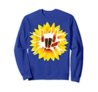 Share Love With Sunflower For And Shirts Sweatshirt Royal Blue