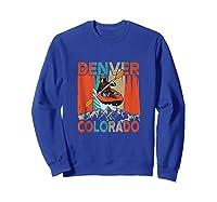 Denver Colorado Water River Rapids Kayaking Shirts Sweatshirt Royal Blue