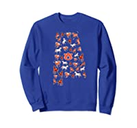 Auburn Tigers Horses Inside State Apparel Shirts Sweatshirt Royal Blue