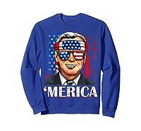 Joe Biden 2020 Merica 4th Of July Independence Day Usa T Shirt Sweatshirt Royal Blue