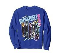 Vintage Backstreet Boy T Shirt Gift Halloween T Shirt Sweatshirt Royal Blue