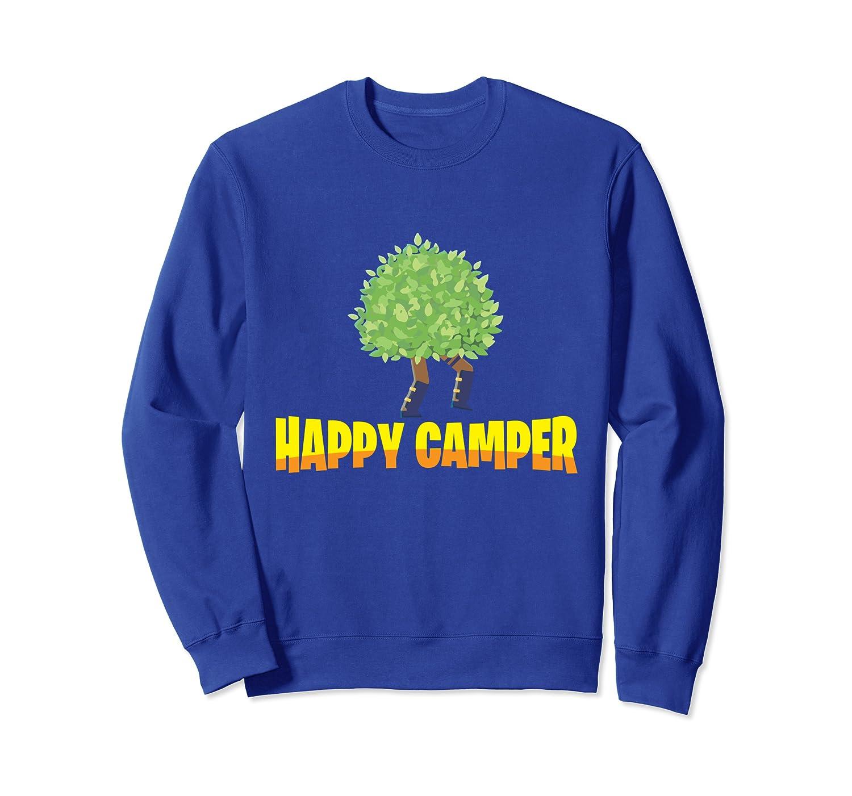 Happy Camper Gamer Bush - Funny Video Game Gaming Humor Tee Sweatshirt-TH