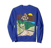 Road Trip 2019 Adventure Awaits Family Summer Vacation Gift Shirts Sweatshirt Royal Blue