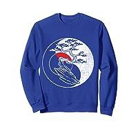 Spirit Soul Yin Yang Bonsai Tree Meditation Shirts Sweatshirt Royal Blue
