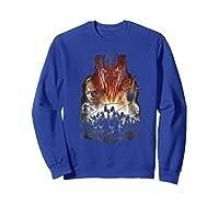 Lord Of The Rings Evil Rising Shirts Sweatshirt Royal Blue