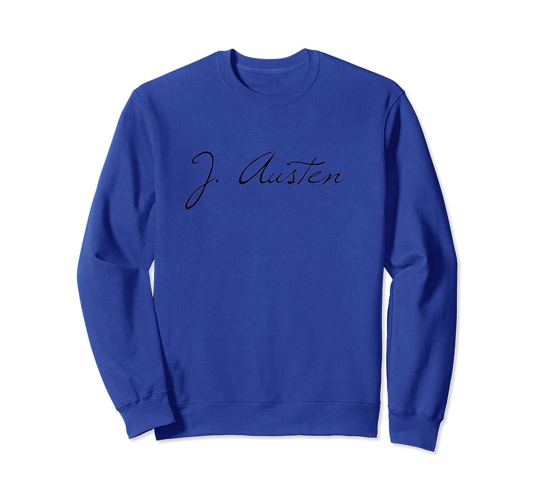 Classic Literature Author Signature T Shirt Crewneck Sweater