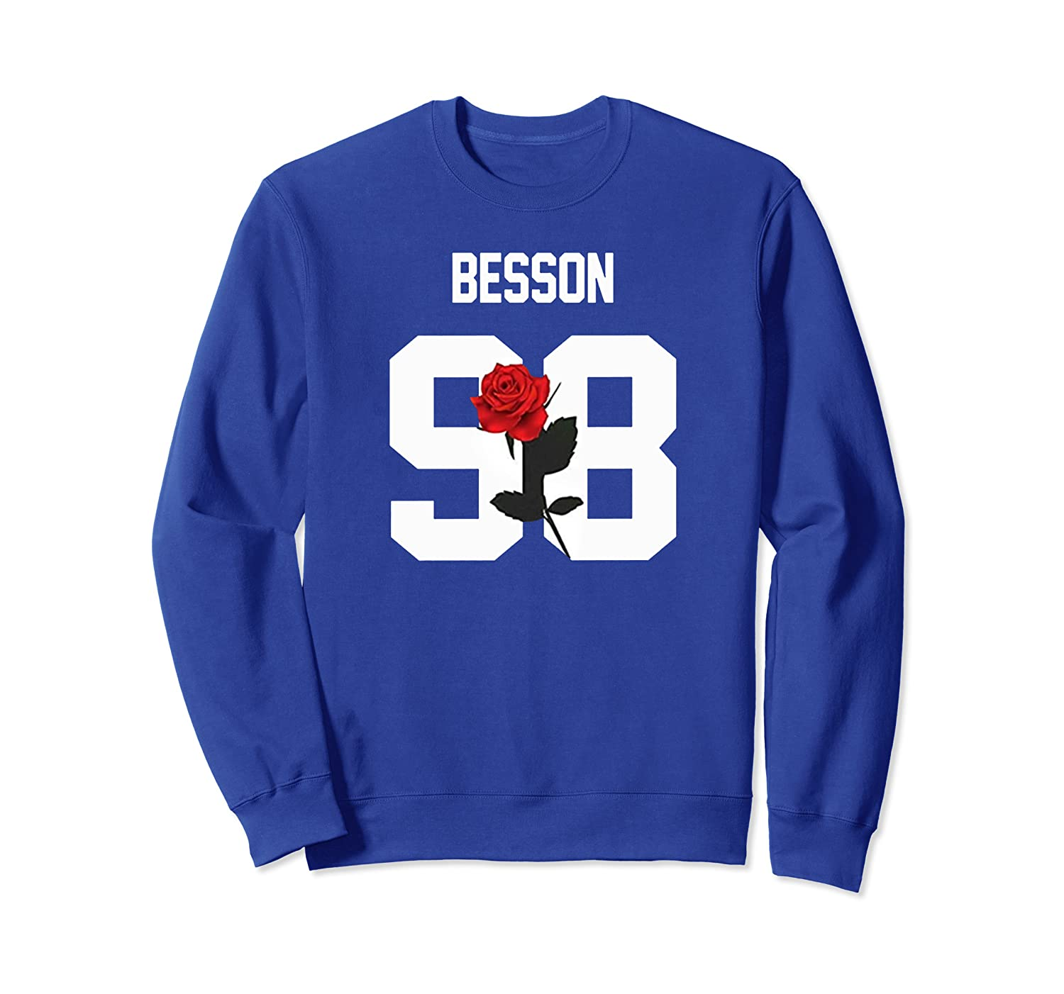 Why Merchandise We Dont Red Rose Corbyn Besson For Girls Men Sweatshirt-TH