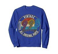 Vintage 21st Birthday Gift Shirt For Classic 1998 T-shirt Sweatshirt Royal Blue