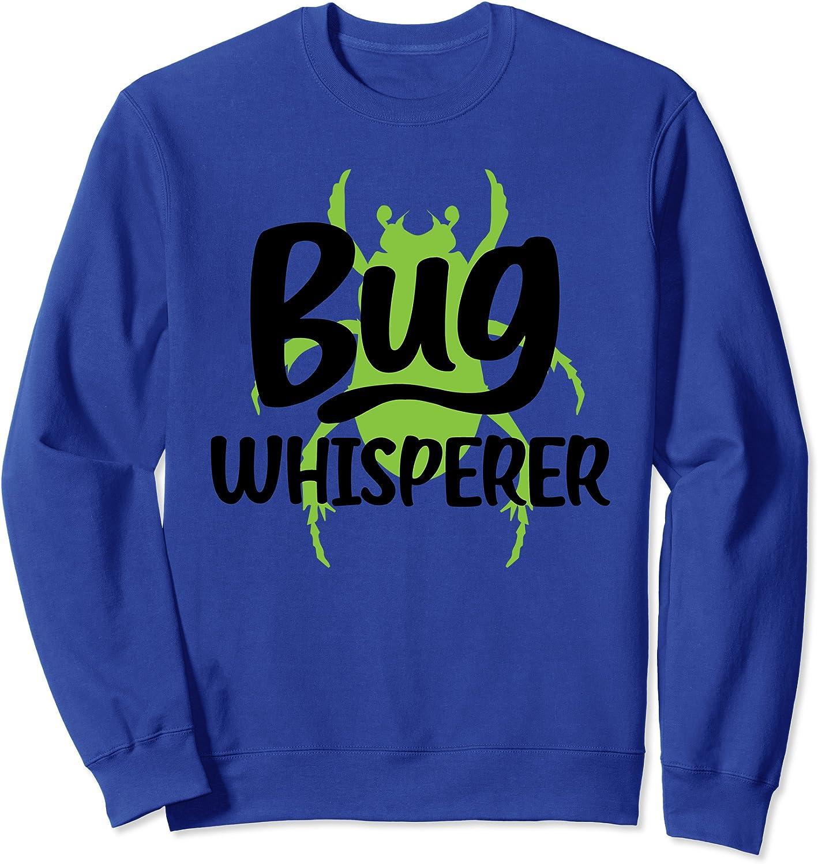 Funny Bug Gift Kids Boys Girls Cool Entomology Bug Whisperer Sweatshirt-TH