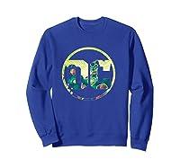 Green Lantern Dc Comics Logo Shirts Sweatshirt Royal Blue
