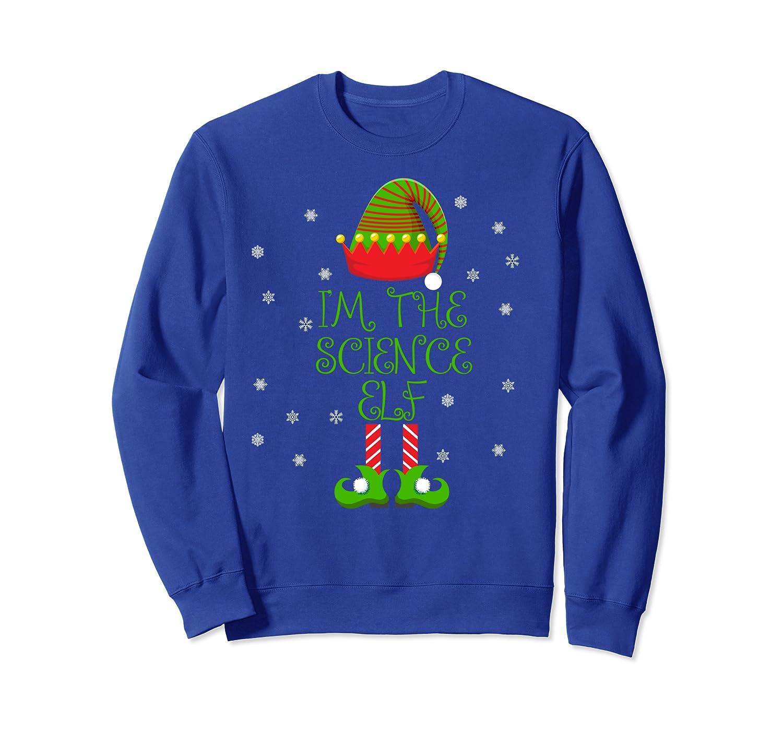 I'm the Science Elf Funny Teacher Xmas Sweatshirt-Awarplus