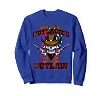 When The Guns Are Outlawed T Shirt For And  Sweatshirt Royal Blue