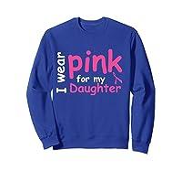 Breast Cancer Chemo Awareness Month T Shirt Sweatshirt Royal Blue