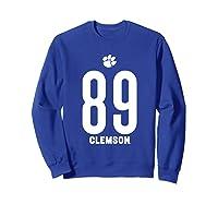 Clemson University Tigers 08amct1 Shirts Sweatshirt Royal Blue