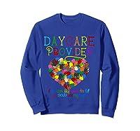 Daycare Provider Tshirt Appreciation Gift Childcare Tea T Shirt Sweatshirt Royal Blue