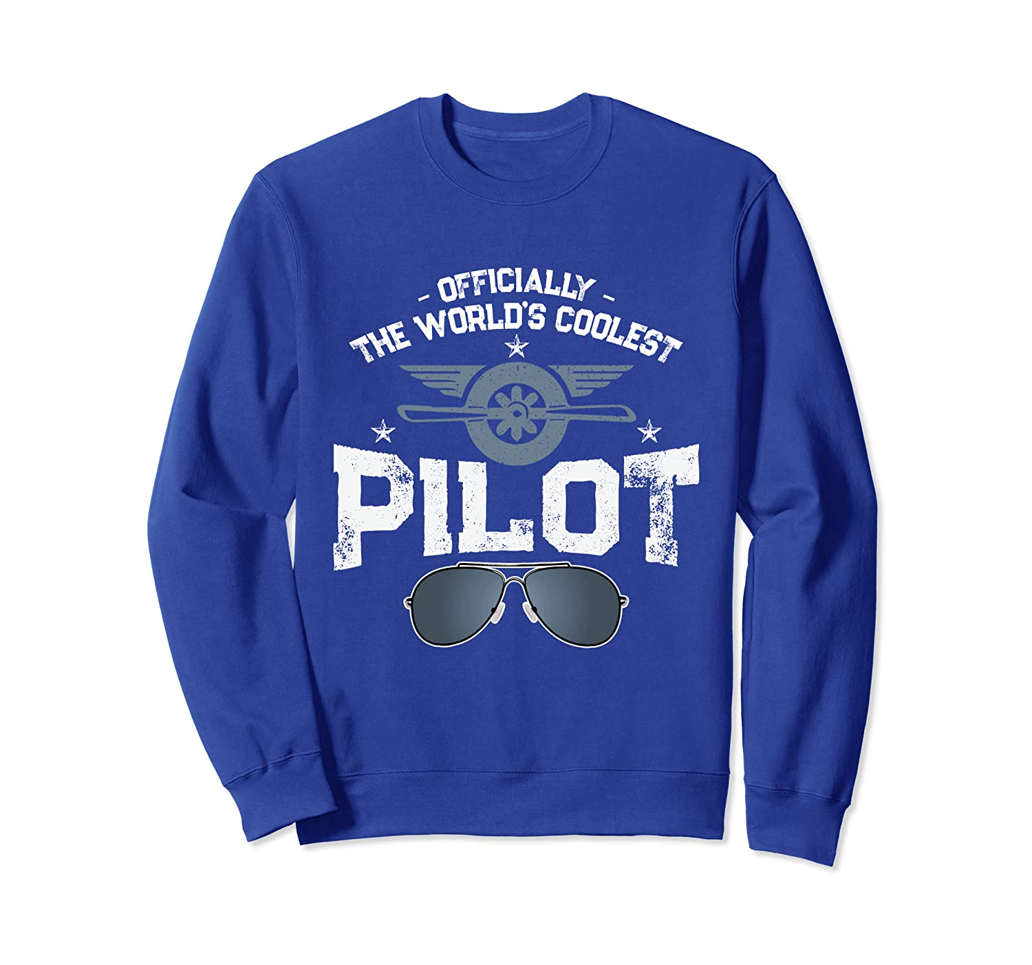 Officially The World's Coolest Pilot Civil Aviation Flight Sweatshirt-TH