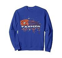 Oklahoma State Cow Nation T Shirt Sweatshirt Royal Blue