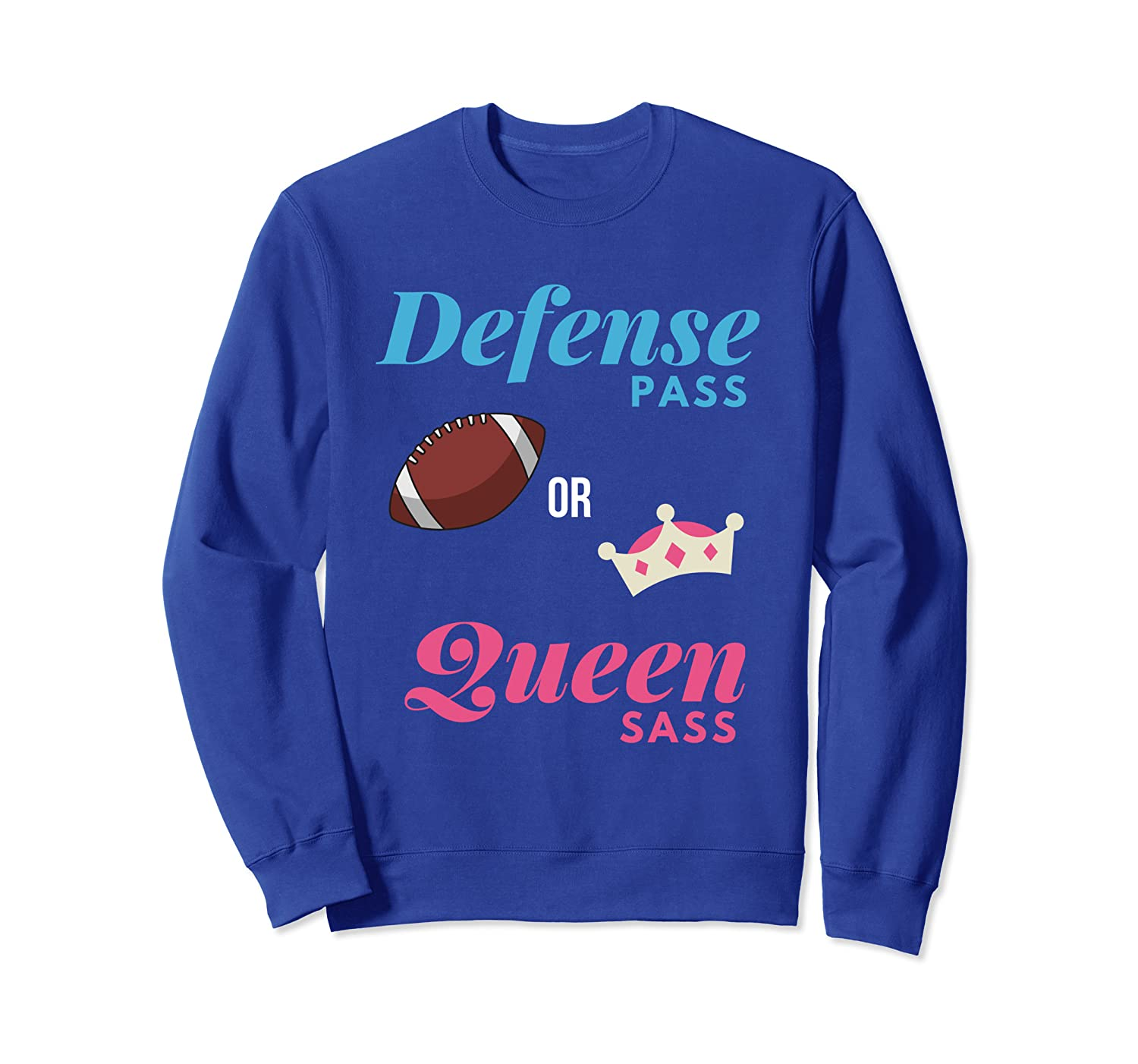 Amazon Defense Pass Or Queen Sass Football Gender Reveal Party