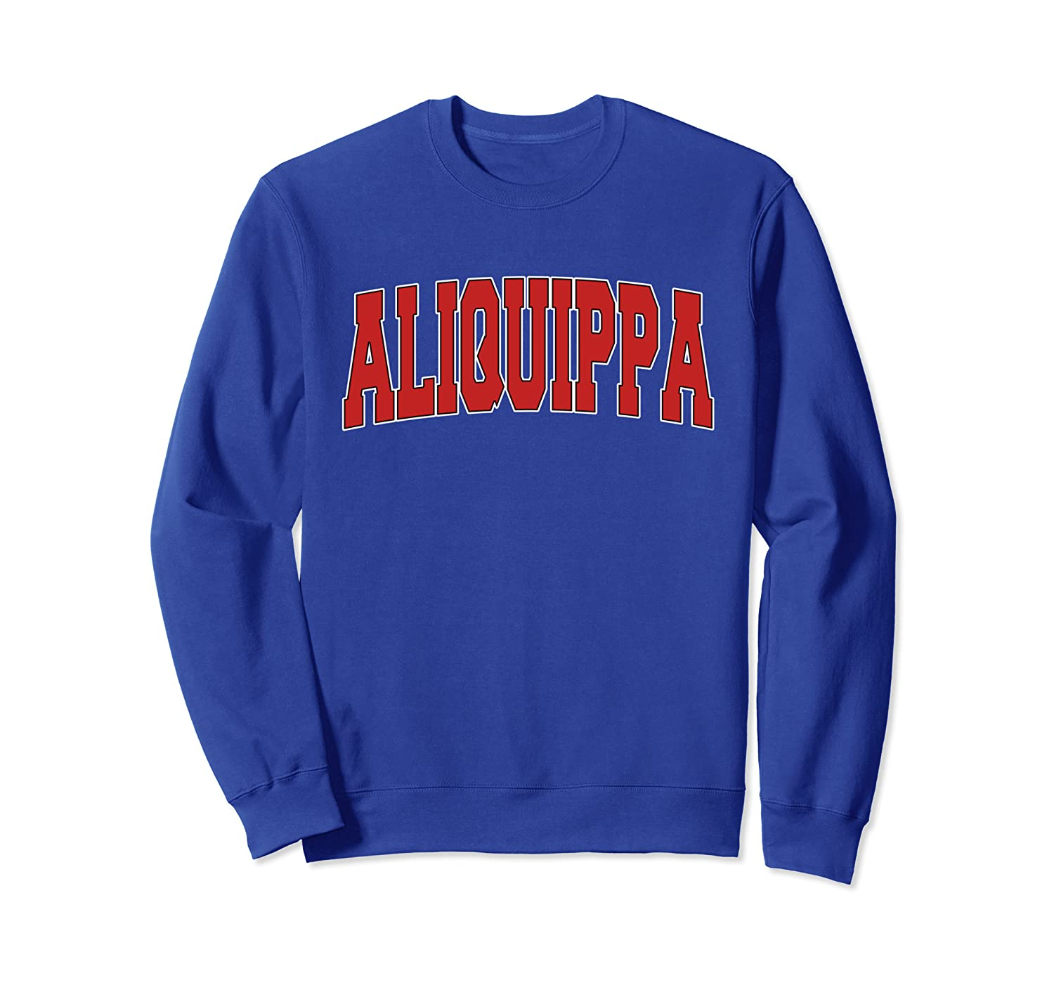 ALIQUIPPA PA PENNSYLVANIA Varsity Style USA Vintage Sports Sweatshirt-TH