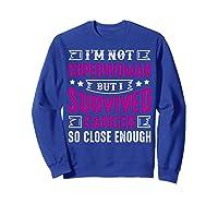 Survived Breast Cancer Awareness Month Pink Ribbon T Shirts Sweatshirt Royal Blue