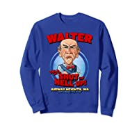 Walter Airway Heights Wa Shirts Sweatshirt Royal Blue