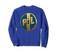 Pil Blue Gold Logo Shirts Sweatshirt Royal Blue