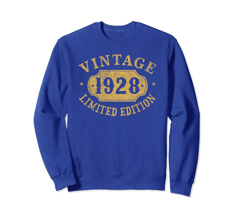 91 years old 91st Birthday Anniversary Gift Limited 1928 Sweatshirt
