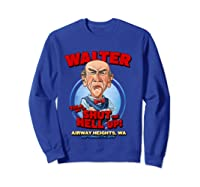 Walter Airway Heights Wa T Shirt Sweatshirt Royal Blue