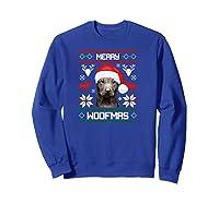 Thai Ridgeback Gift For Merry Christmas Woofmas Clothes Shirts Sweatshirt Royal Blue