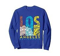 Los Angeles Shirt California City Los Angeles T Shirt Sweatshirt Royal Blue