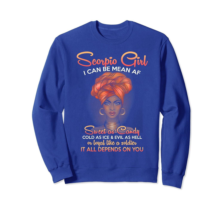 Scorpio Queens Are Born in October 23 – November 21 Sweatshirt