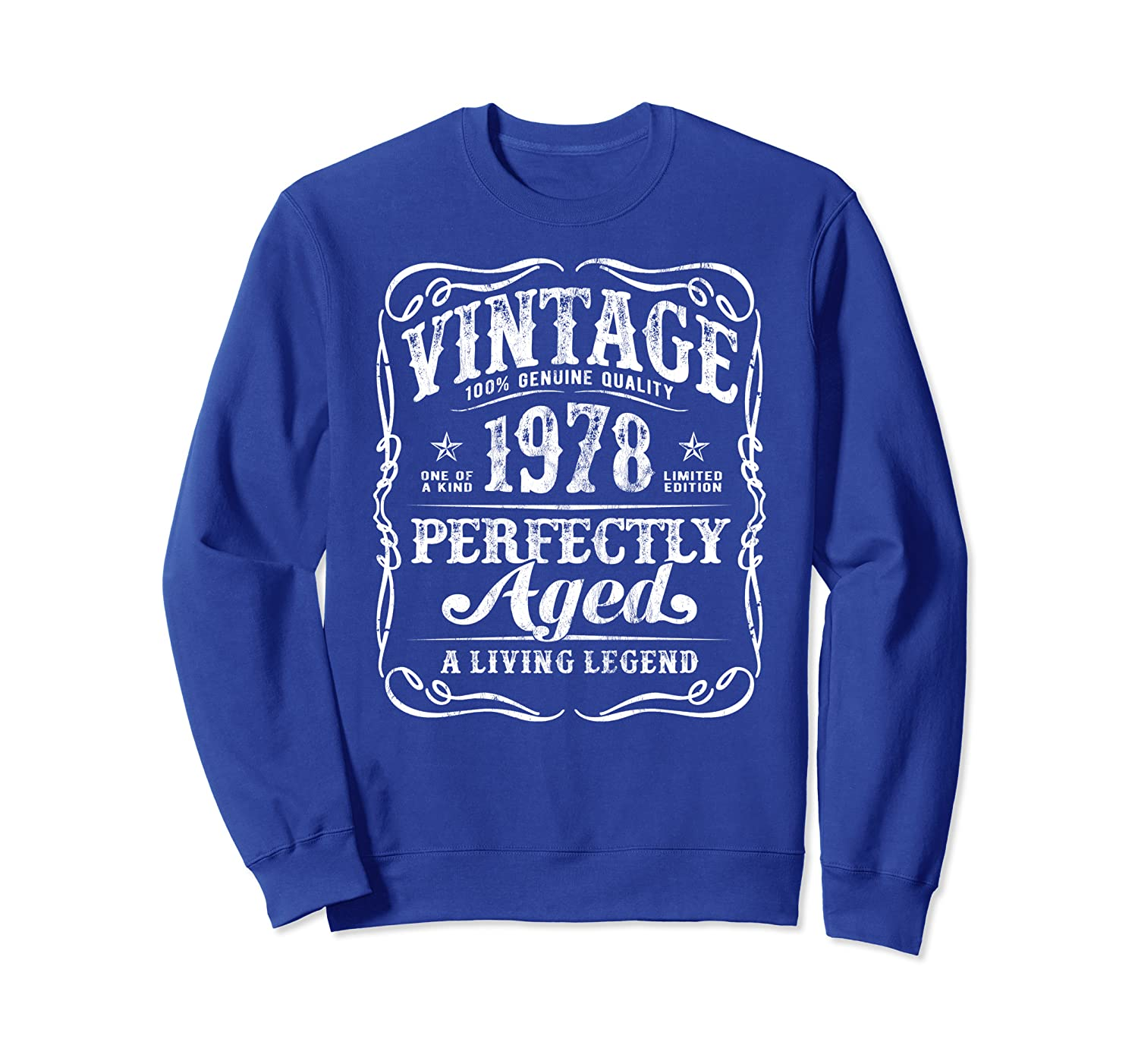 Vintage Made In 1978 Classic 42nd Birthday Gift v2 Sweatshirt