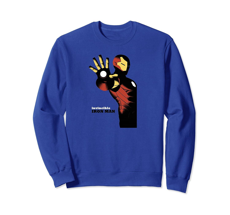 Avengers Iron Man Invincible Talk To The Hand Shirts Crewneck Sweater