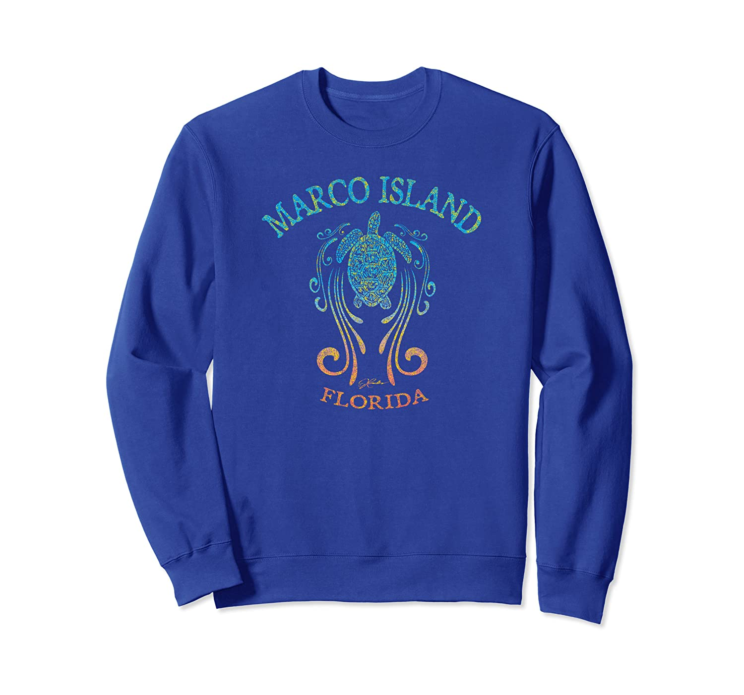 JCombs: Marco Island, FL, Sea Turtle in the Slipstream Sweatshirt