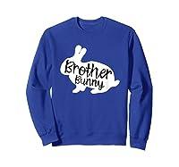 Brother Bunny Cute Rabbit Family Easter Gift Shirts Sweatshirt Royal Blue