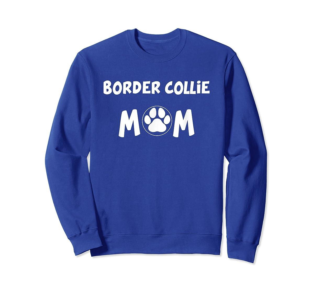 Perfect Dog Mother Gift | Border Collie Mom T-Shirt-Sweatshirt-Royal