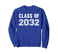 Class Of 2031 Grow With Me First Day Of School Shirts Sweatshirt Royal Blue