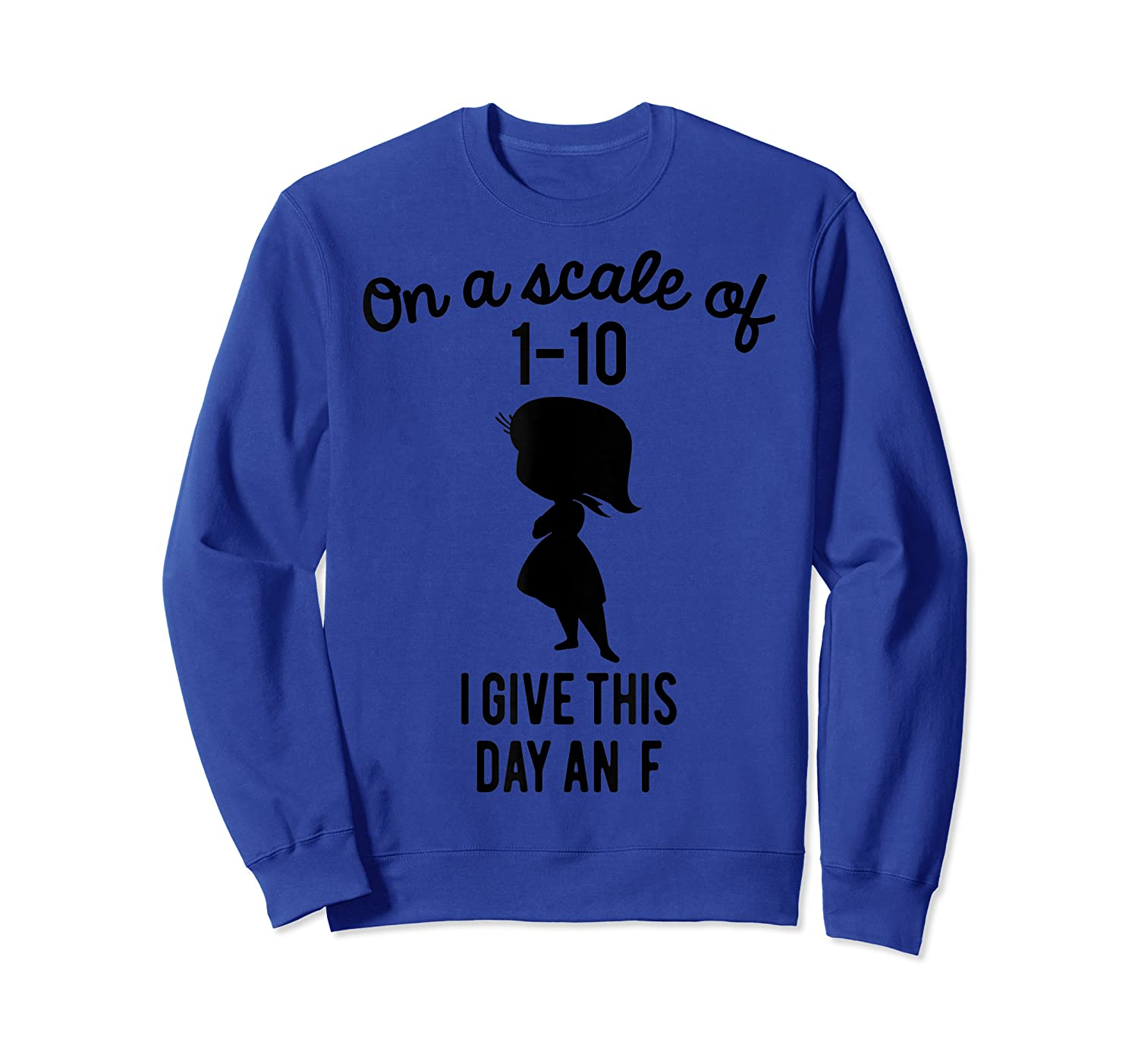 Pixar Inside Out Scale Of 1 10 Graphic Shirts Crewneck Sweater