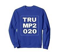 Trump 2020 Shirts Sweatshirt Royal Blue