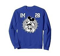 Disney Mickey Mouse Academy T Shirt Sweatshirt Royal Blue