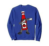 Ketchup Dab Pose T-shirt Sweatshirt Royal Blue