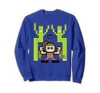 8 Bit Bayley Shirts Sweatshirt Royal Blue