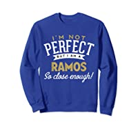 Ramos Family Reunion Shirts Sweatshirt Royal Blue