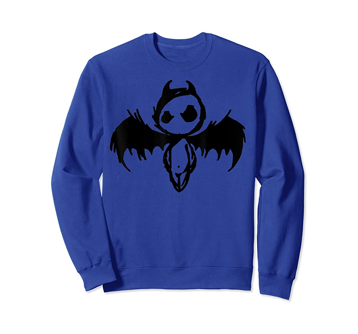 Cute Demon Vintage Couple Matching Halloween Party Costume  T-Shirt-Sweatshirt-Royal