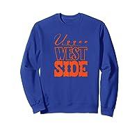 Upper West Side Grocery Store Tribute T Shirt Sweatshirt Royal Blue