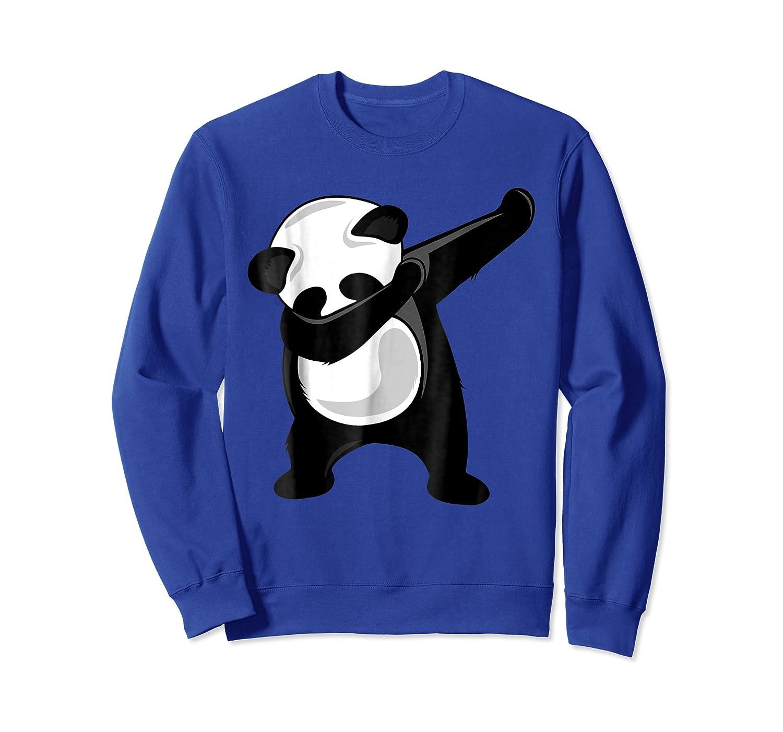 Dabbing Panda Giant Panda Bear Dab Dance Shirts Crewneck Sweater