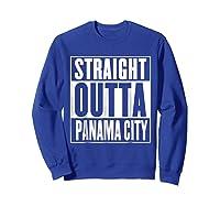 Straight Outta Pa City Shirt Sweatshirt Royal Blue