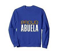 Proud Abuela Gay Pride Month Retro Lgbtq Shirts Sweatshirt Royal Blue
