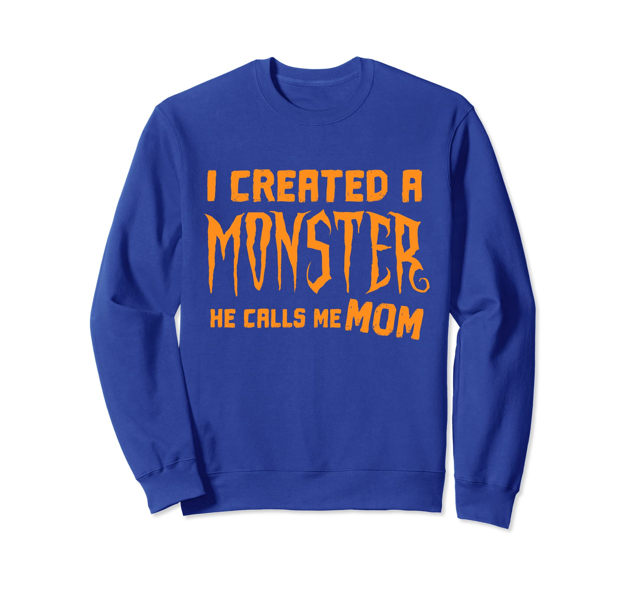 New Mom 1st Halloween Gift From Son Mothers Day Sweatshirt-ln